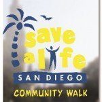 Save A Life San Diego Community Walk logo