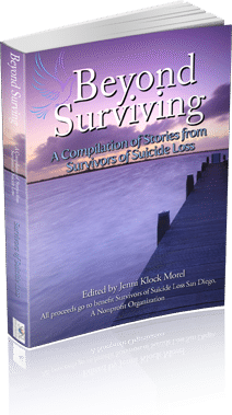 photo of 3-D Book Cover Beyond Surviving