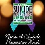 Suicide Prevention Week Photo