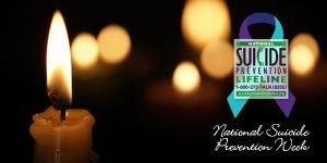 Photo suicide prevention week logo