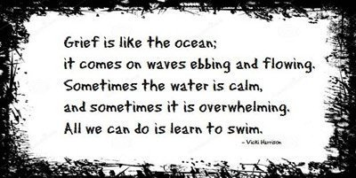 Grief is like the ocean quote