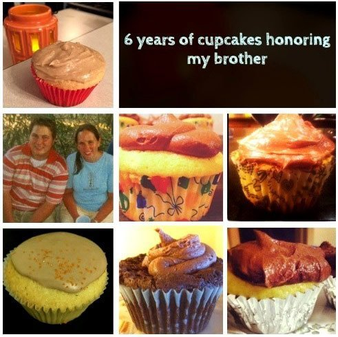 photo 6 years of cupcakes celebrating holidays honoring my brother