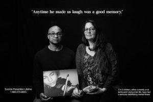 photo of couple with quote